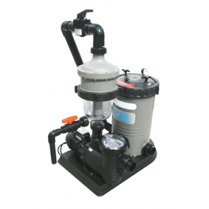 Cooling water filtration